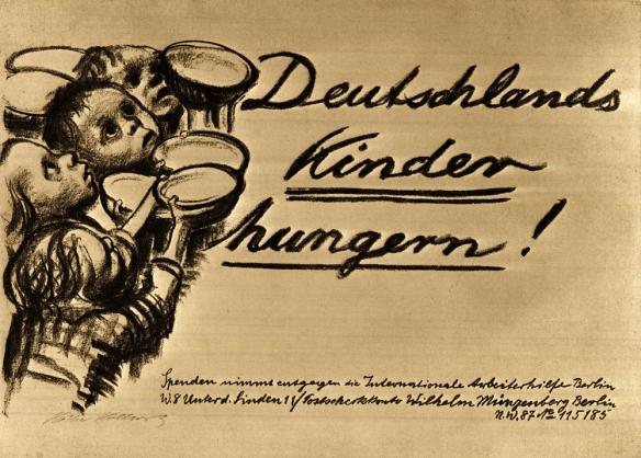 Deutschlands Kinder hungern / Kollwitz