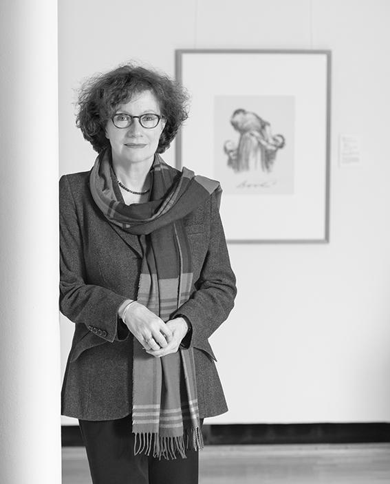 Hannelore Fischer Direktiorin des Käthe Kollwitz Museum